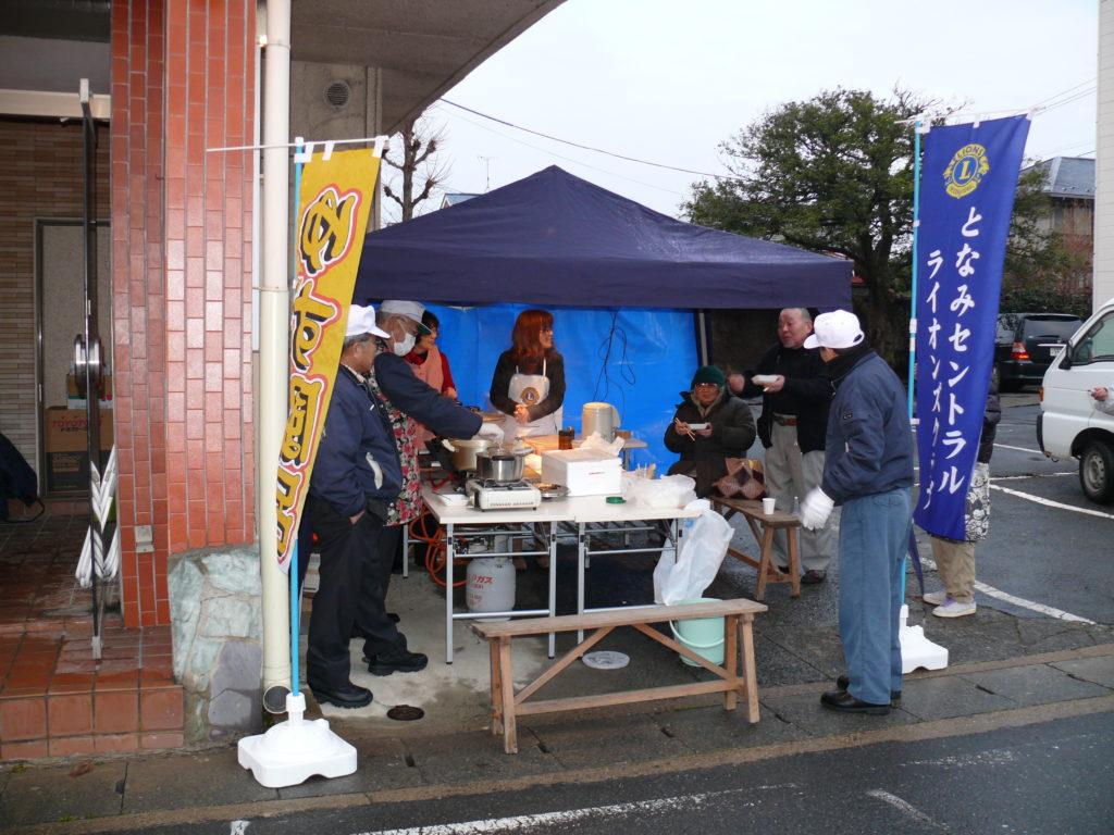 となみセントラルライオンズクラブ 東日本大震災支援 第3回