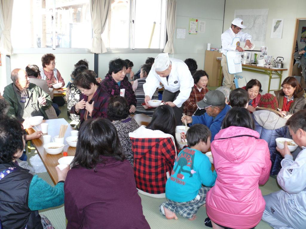 となみセントラルライオンズクラブ 東日本大震災支援 第4回